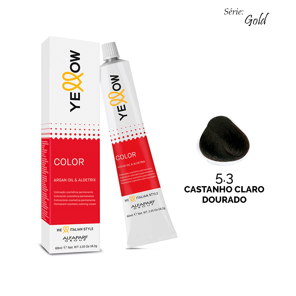 Yellow Color GOLD - 5.3 CASTANHO CLARO DOURADO