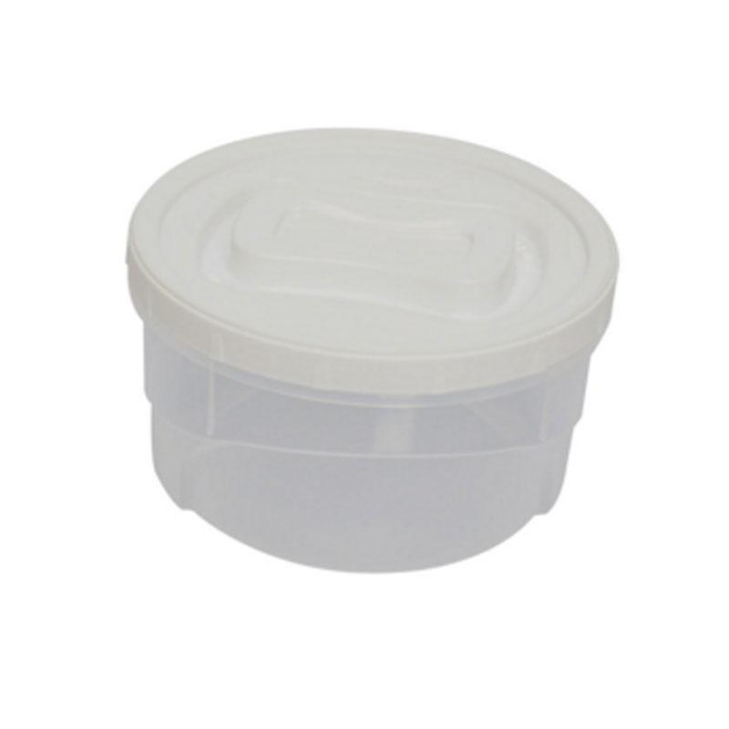 Pote Plástico Redondo 1,4 Litros Plasútil Clic Pote - 2833 - 2833