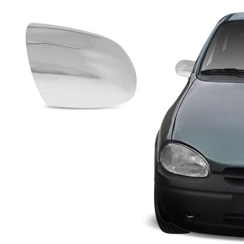 Aplique Cromado para Retrovisor Corsa 1994 a 2001 Shekparts