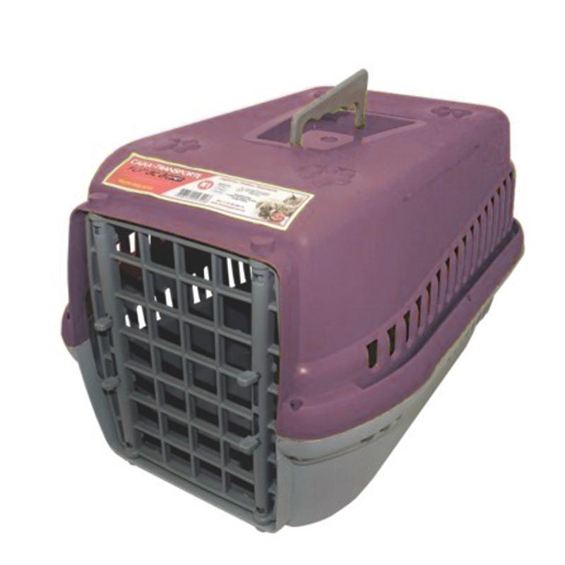 Caixa de Transporte para Pet com 55x37x34,5cm - Furacão Pet