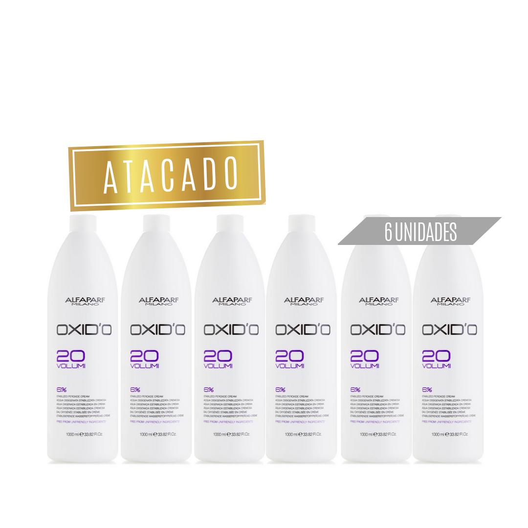Oxid'o água oxigenada Alfaparf  20 Volumes Atacado (6 unidades)