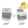 Yellow Bleach - Pó descolorante 9 tons + 7 tons grátis (Sachês 12x50g e 12x20g)
