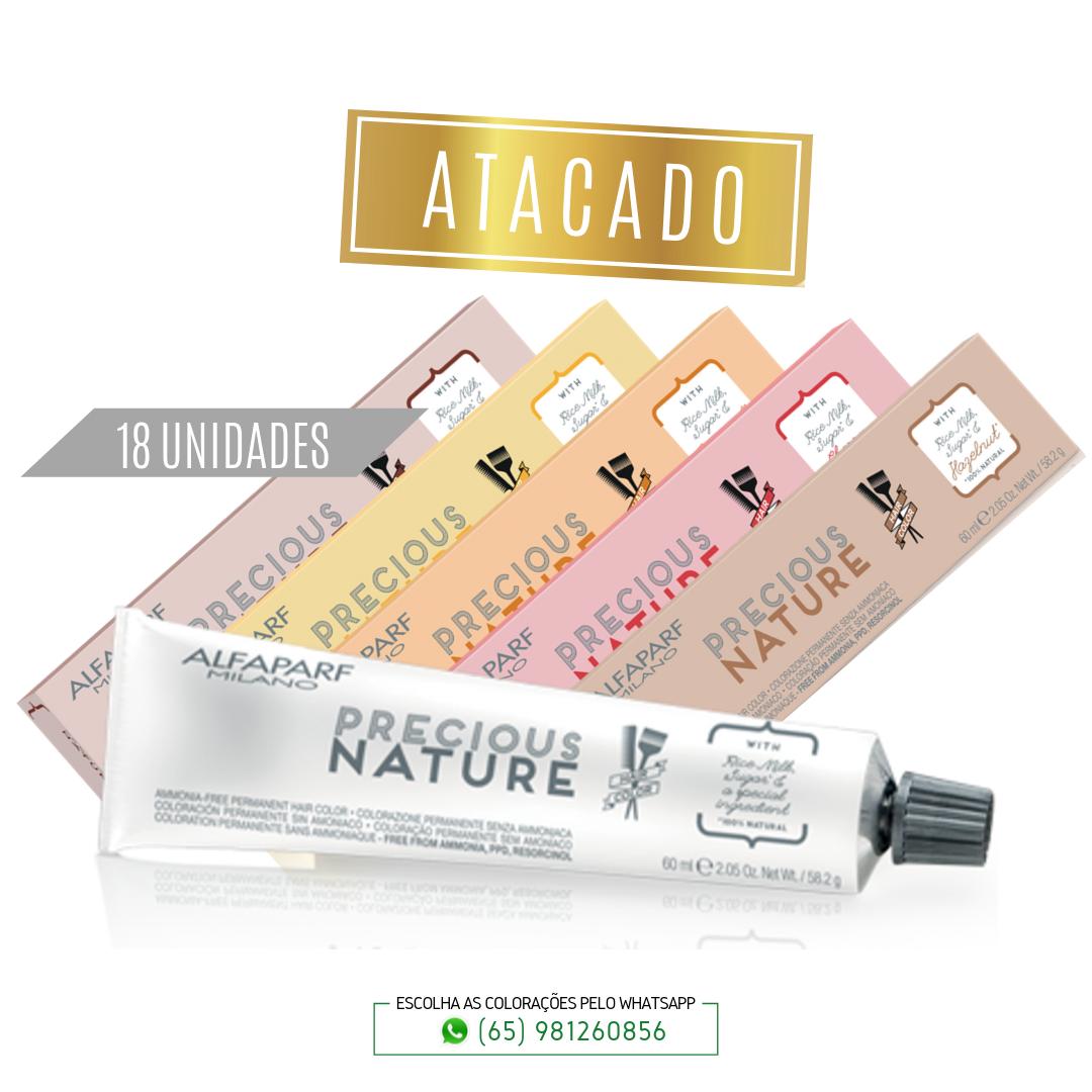 Coloração Alfaparf Precious Nature Hair Color Naturais 100% natural - Atacado