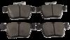 Pastilha de Cerâmica Blue Friction AUDI A3 - VOLKSWAGEN Novo Golf - Traseira - BF1516-00 - BF1516-00