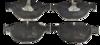 Pastilha de Freio de Cerâmica BMW Série 5 / Série 6 / Série 7 - Dianteira - BF1414-00 - BF1414-00