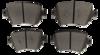 Pastilha de Cerâmica Blue Friction AUDI A1 / Q3 - VOLKSWAGEN Golf - BF1549-08 - BF1549-08