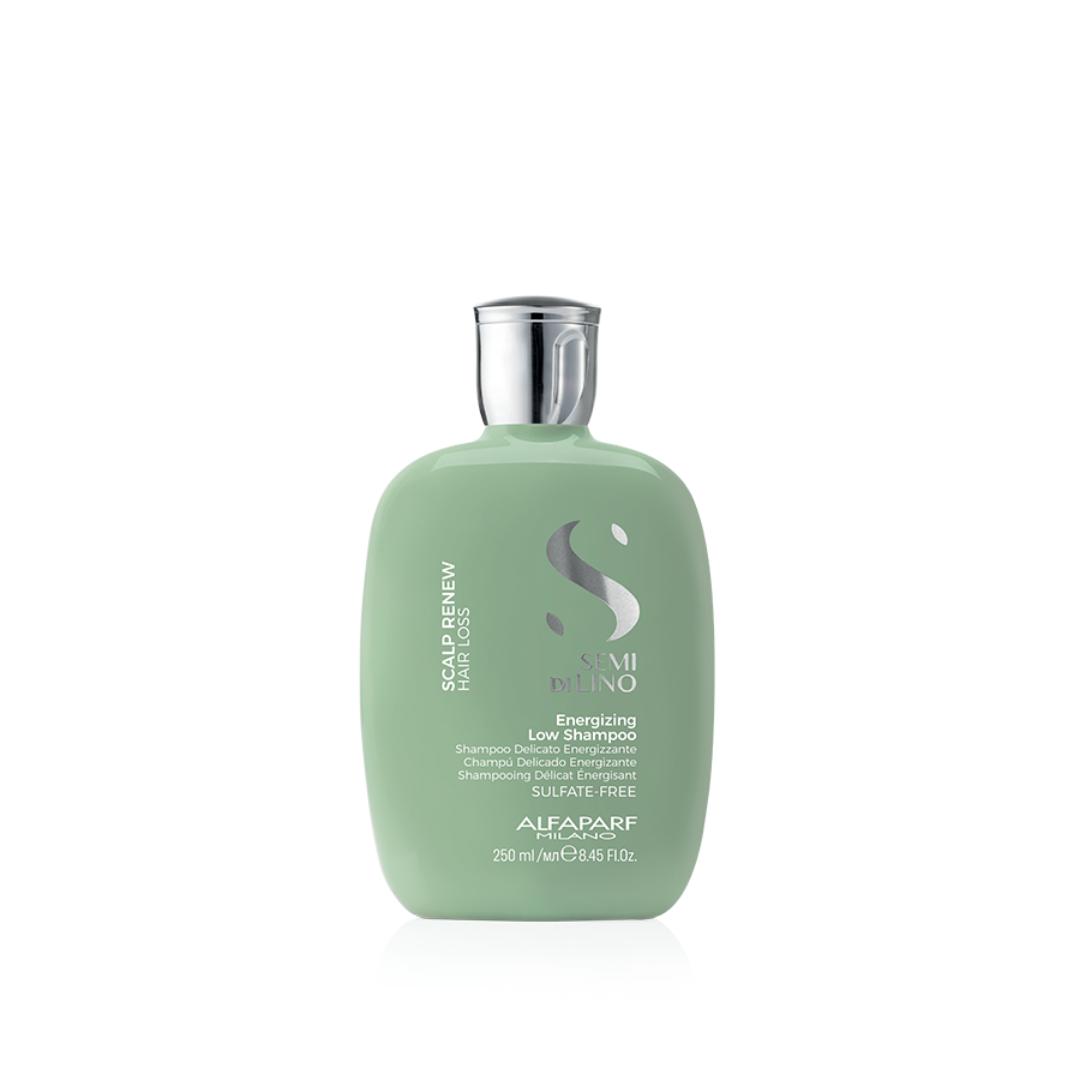 Low Shampoo Antiqueda Energizante - Alfaparf Semi di Lino Scalp Renew