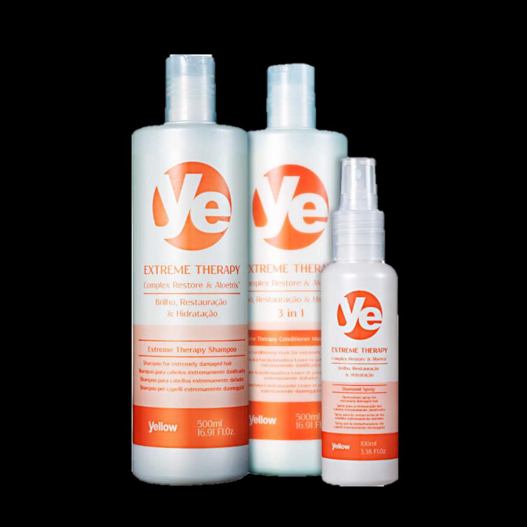 Kit Ye Extreme Therapy Restoration (3 Produtos)