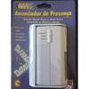 Anunciador de Presença Sensor + Alarme 9V DNI - 6000