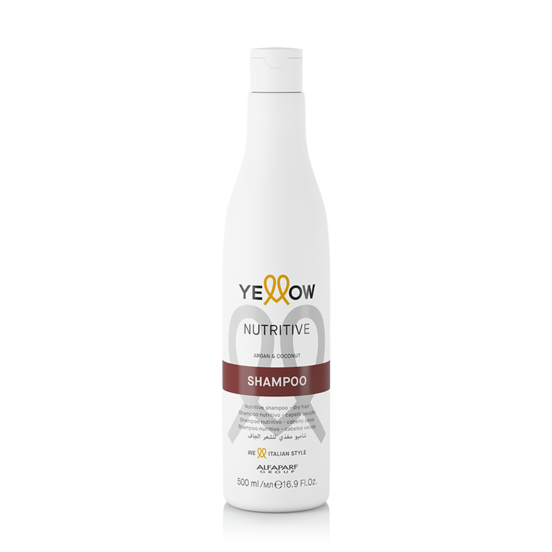 Shampoo Yellow Nutritive Argan & Coconut