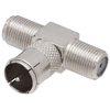 Emenda T 1+2 Jack-Fêmea x 1 Plug F Chip Sce Unitário - 033-8089