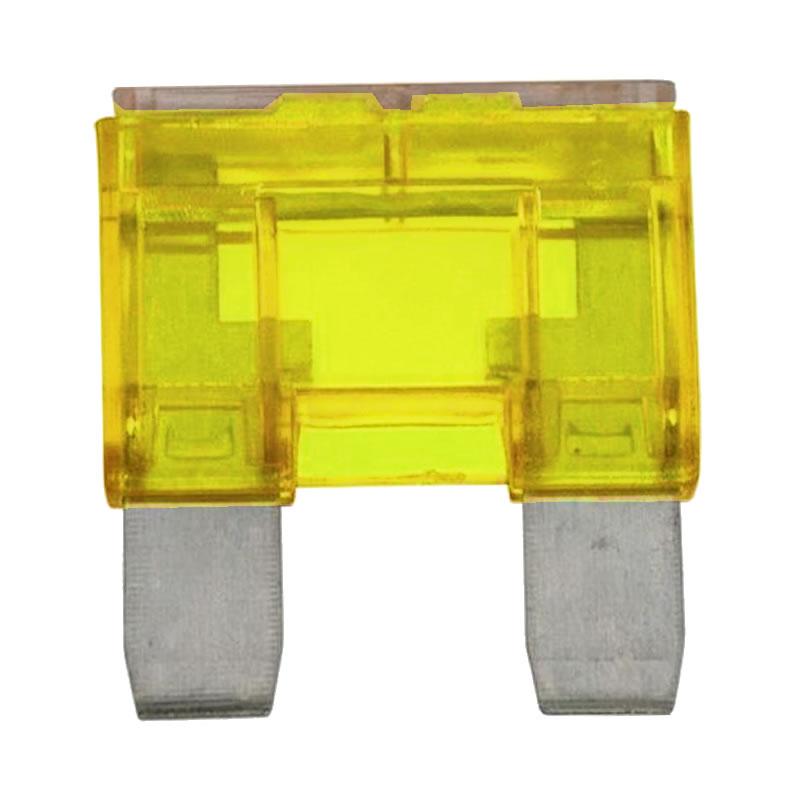 Fusível Faca Chip Sce  20A Grande Amarelo - 045-9020 - Unitário