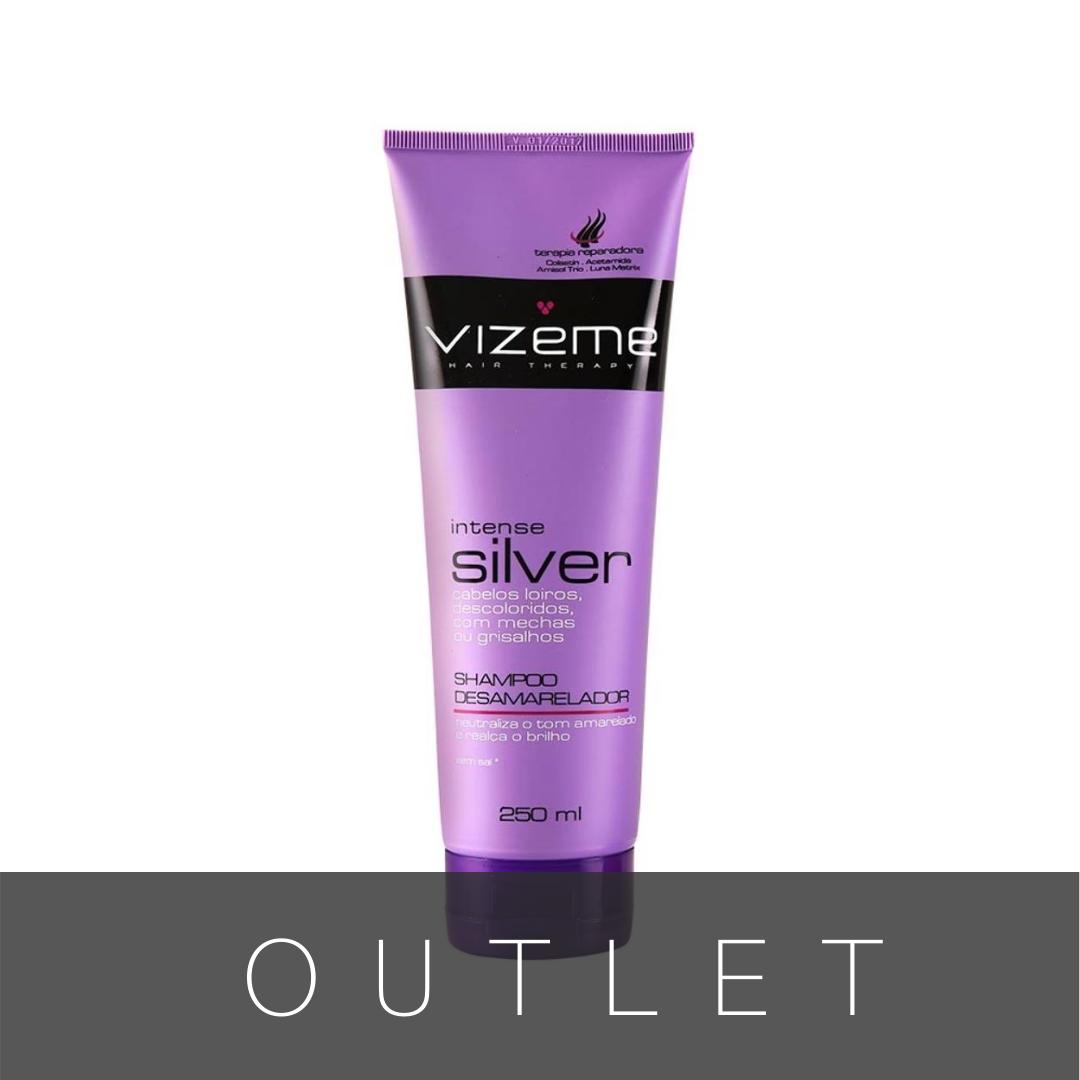 Shampoo Desamarelador Vizeme Intense Silver