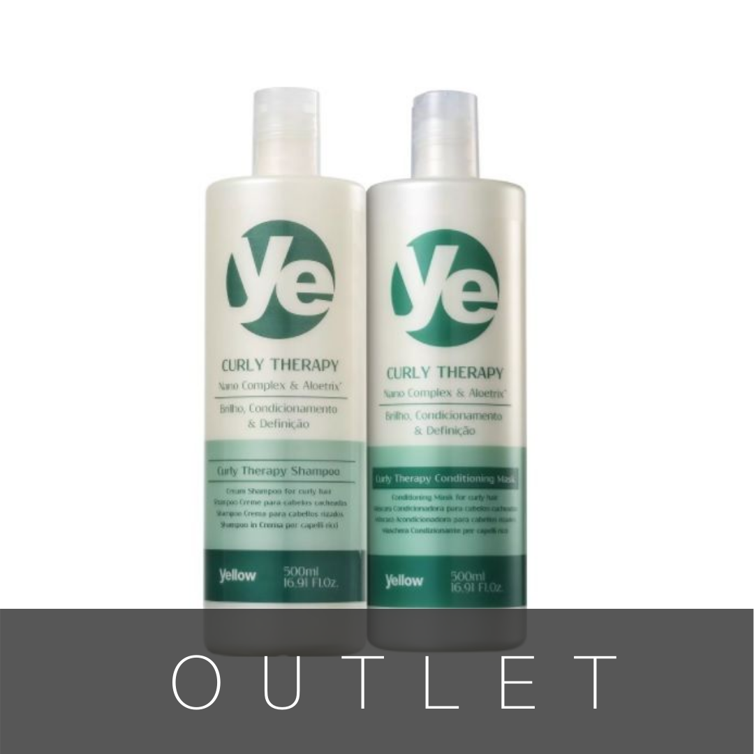 Kit  Ye Curly Therapy Duo (2 Produtos)