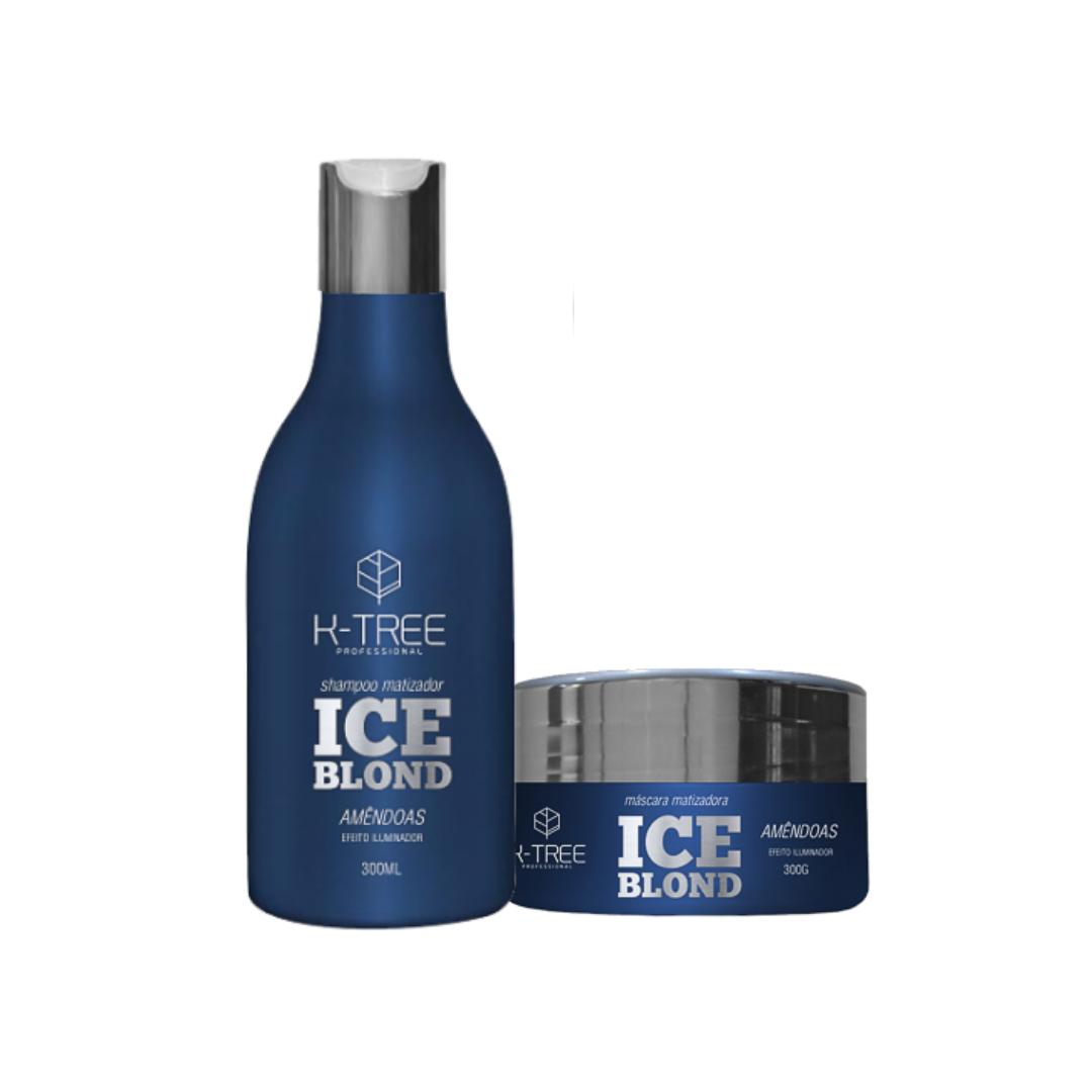 Ice Blond Matizador - Kit K-tree Shampoo e Máscara