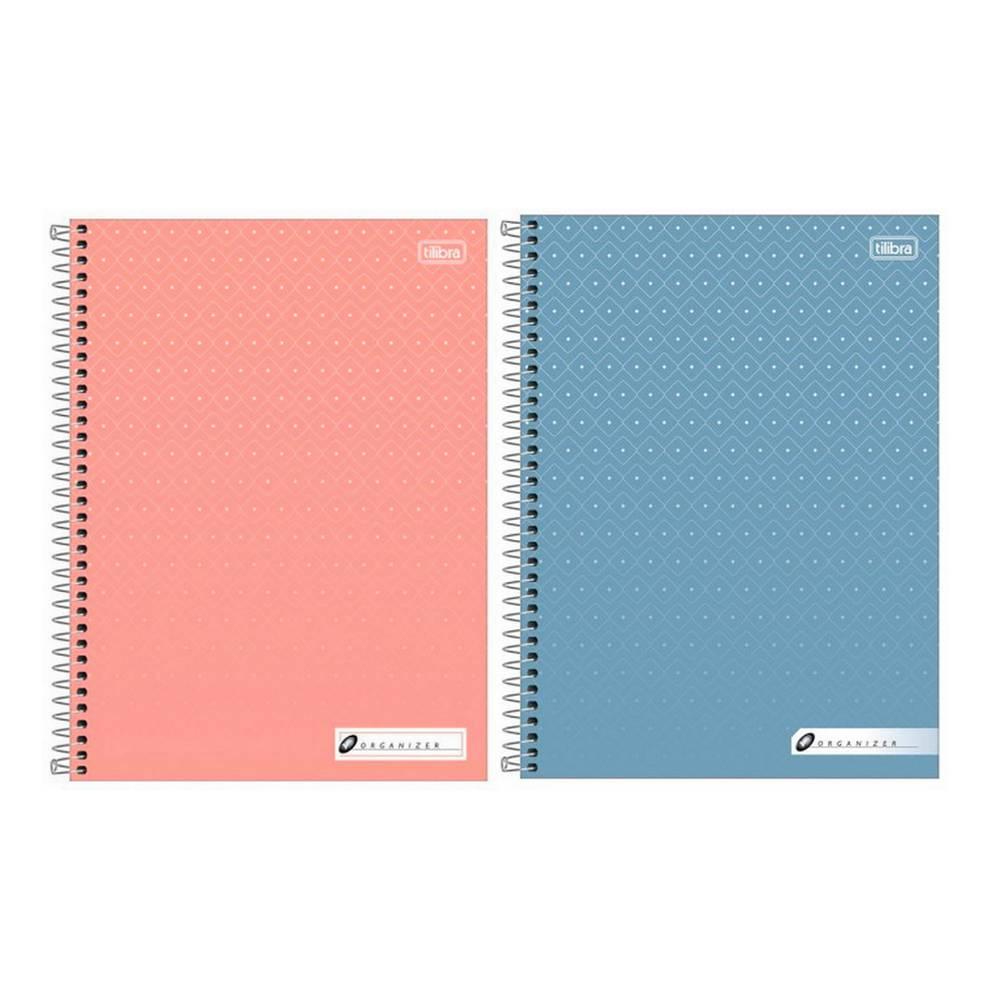 Caderno da Secretária Capa Dura Espiral 100 Fls 200x275  Pacote com 4 Unidades - Tilibra - 122211