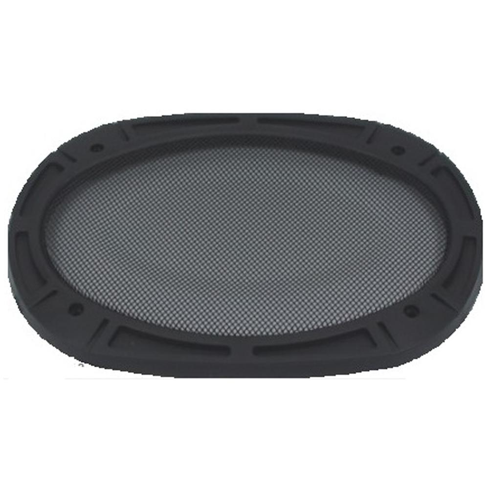 """Tela para Alto Falante 6X9"""" Plástica Dualcomp Preto - 36.2.14/6.26.14"""