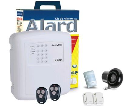 Central de Alarme ECP Kit Alard Max 1 com IVP Sem Fio