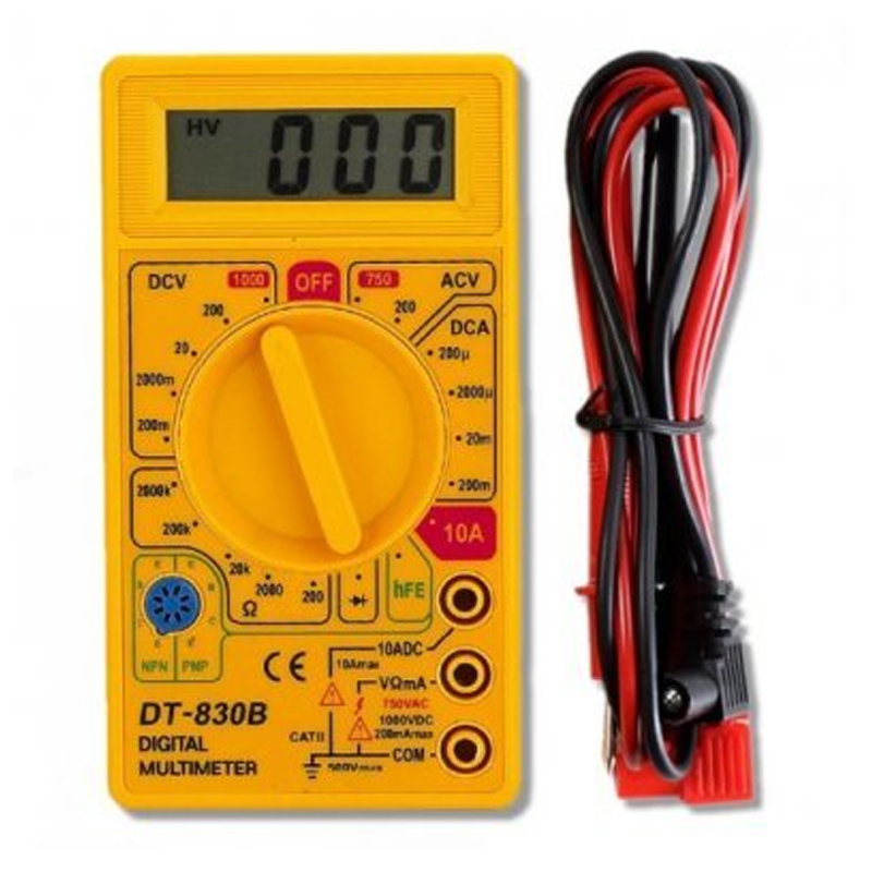 Multímetro Digital Tblack DT-830B - 7.62.14