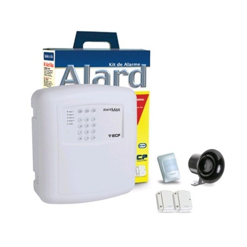 Central de Alarme ECP Kit Max 4 com IVP Plus sem Fio - F109271