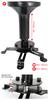Suporte para Projetor de Teto Universal 300 a 500mm Multivisão - MULTI-PROJ-M-PRE