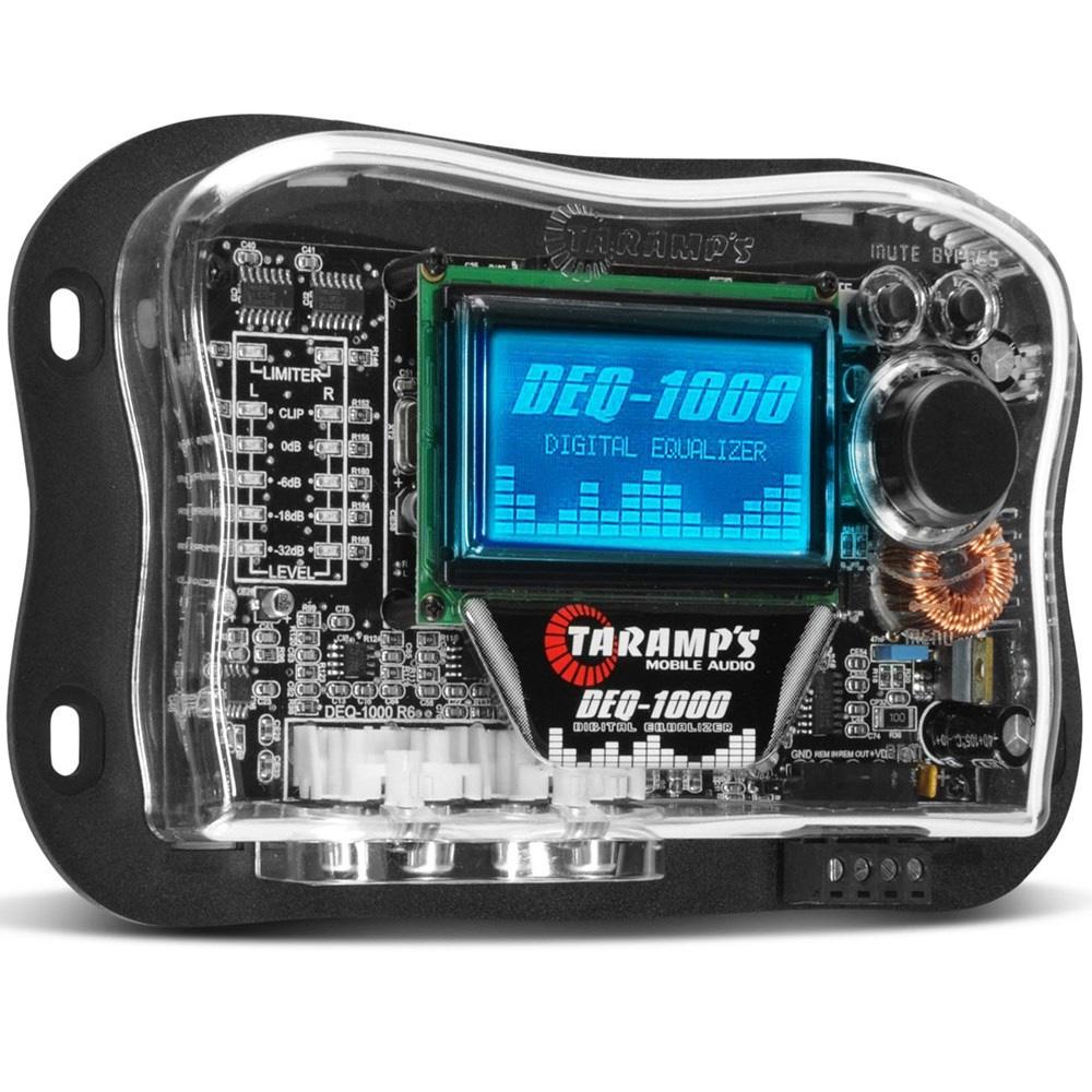 Equalizador Gráfico Digital LCD 15 Bandas Automotivo