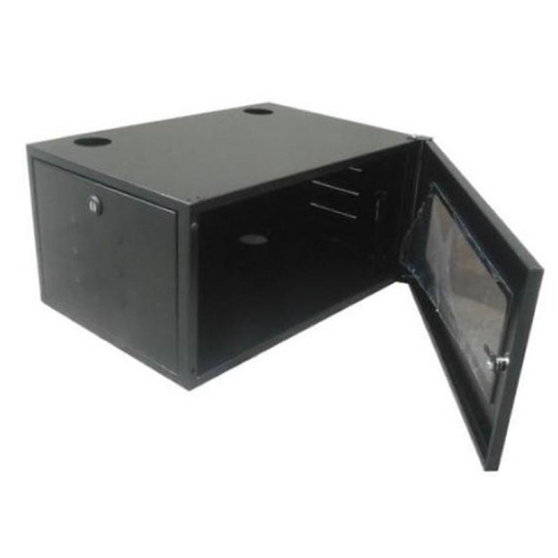 Mini-Rack Parede 5U 380mm 19POL BBK Preto - 1020120004
