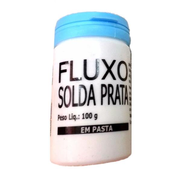 Fluxo para Solda 100Gr Prata em Pasta Oxigen - C107185