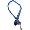 Guia para Cachorros de Corda Roliça Grossa com 1,0 metro 16mm - Furacão Pet - 0016 - 0016 - AZUL ESTAMPADO