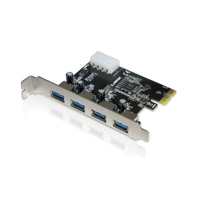 Placa PCI-E GV Brasil 4 USB 3.0 - PCI.727