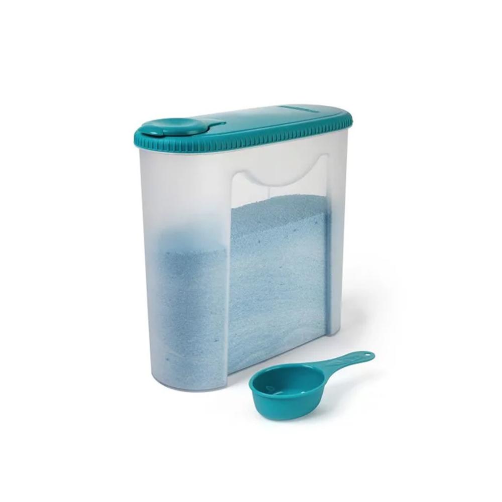 Porta Sabão em Pó de Plástico com Dosador para 2,35 Litros - Sanremo 267 - 267