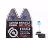 Lâmpada Super Branca Automotiva H27 27w 12 Volts 8500K Qualyten - Vendido no Par - H4-4083