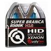 Lâmpada Super Branca Automotiva H16 Cachimbo 19w 12 Volts 8500K - Qualiyten H16-4210 - Vendido no Par