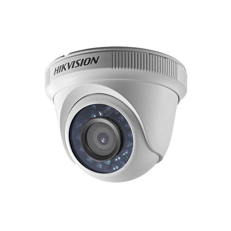 Câmera de Segurança HikVision Dome Infravermelho 20 Metros HD 720P 1/3 2,8MM - DS-2CE56C0T-IRP/88910 - DS-2CE56C0T-IRP