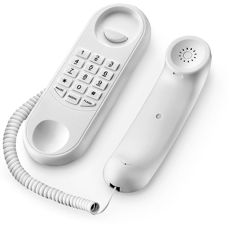 Monofone para Porteiro Eletrônico Dedicado Multilaser Branco - SE400