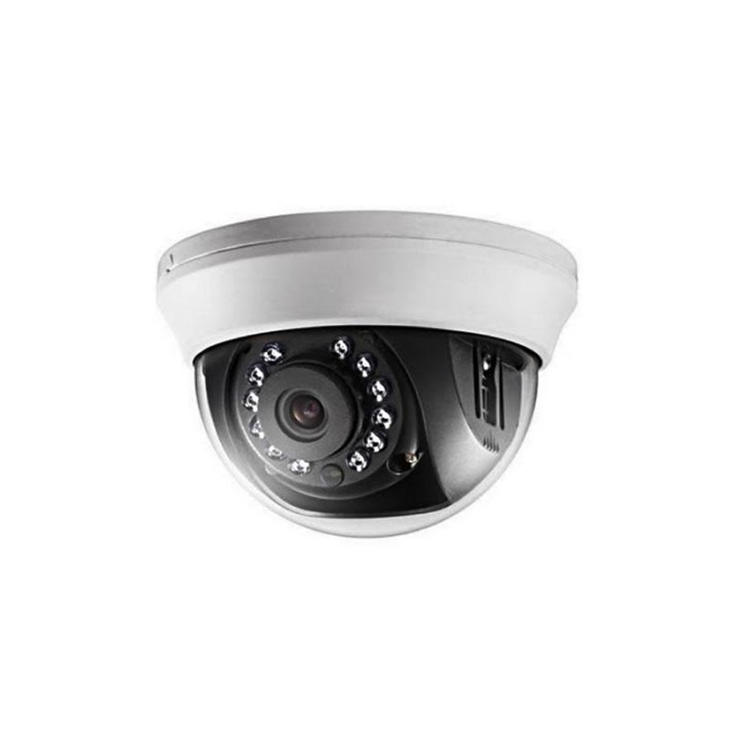 Câmera de Segurança Dome HikVision Infravermelho 20 Metros 4 em 1 720P 1/3 2,8MM - DS-2CE56C0T-IRMMF - DS-2CE56C0T-IRMMF