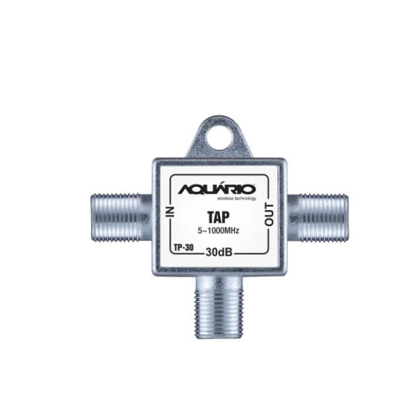 TAP Tomada Blindada Aquário 30DB 5 a 1000 MHz - TP-30