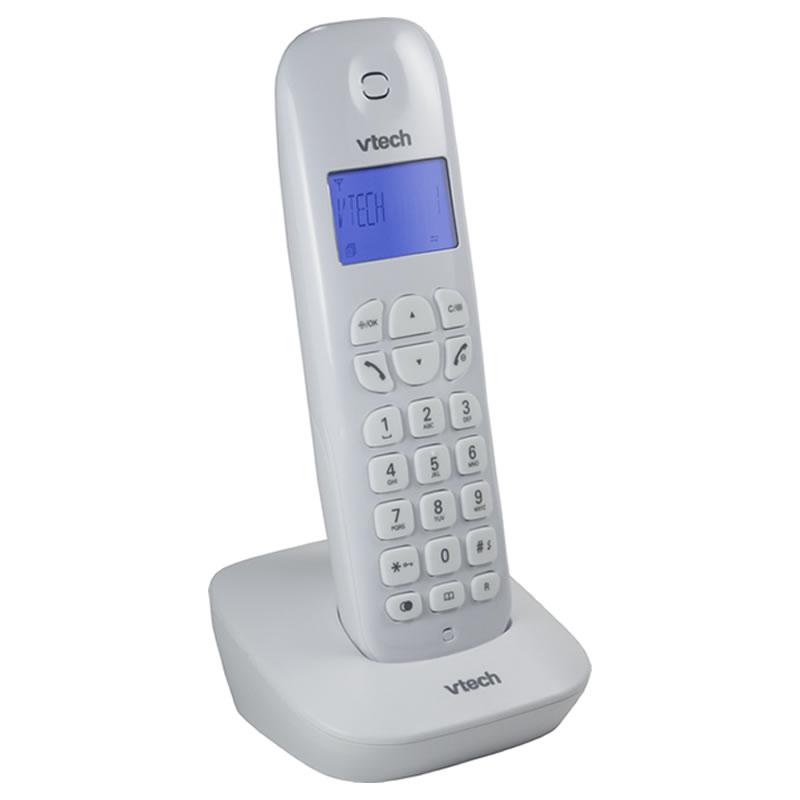 Telefone sem Fio Vtech com Identificador de Chamadas Dect 6.0 Branco - VT680W - VT680W