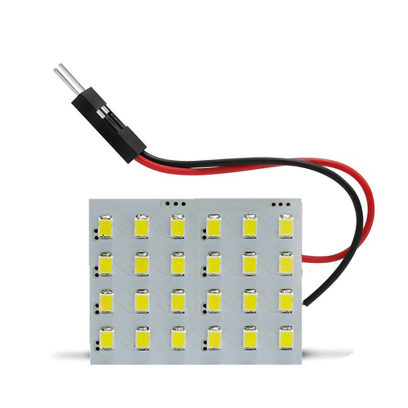 Placa de Led 24 Leds 12 Volts 50x50 Velox Parts - Vendido Unitário - 935.354