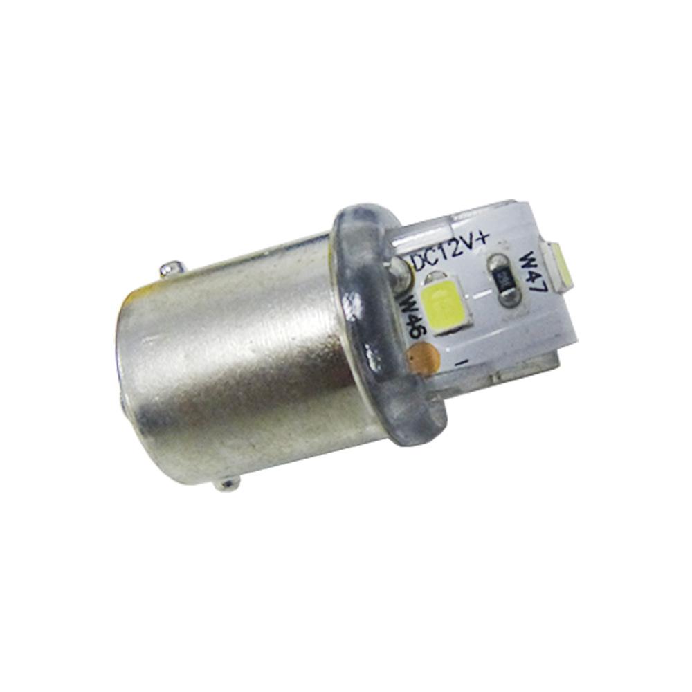 Lâmpada Led Automotiva 1141 1 Polo 12 Volts 3 Leds Branco Ueta - Caixa com 10 Unidades - U-1130
