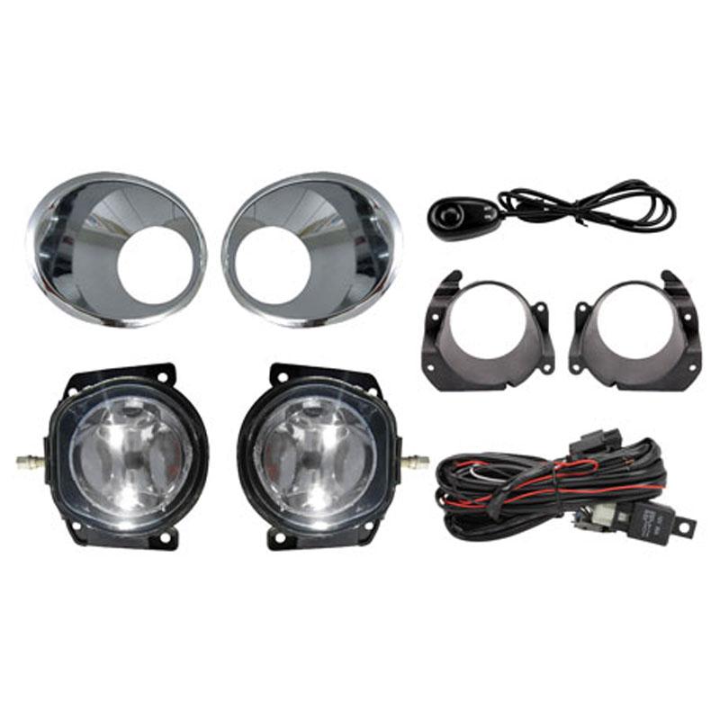 Kit Farol de Milha Palio 2008 a 2009 e Siena 2010 a 2011 G4 com Botão Modelo Universal Auxiliar Neblina Shocklight - SL-090710U - SL-090710U