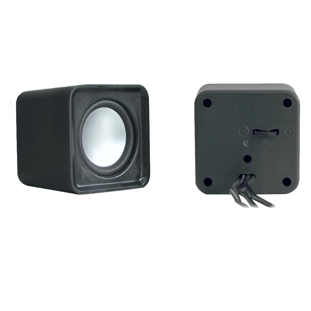 Caixa Som Mini 4W Preto USB Kmex - SP8900G00010BOX