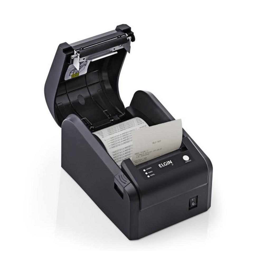 Impressora Térmica Não Fiscal 203dpi I7 USB com Serrilha - 46I7USBCKD11 - 46I7USBCKD11