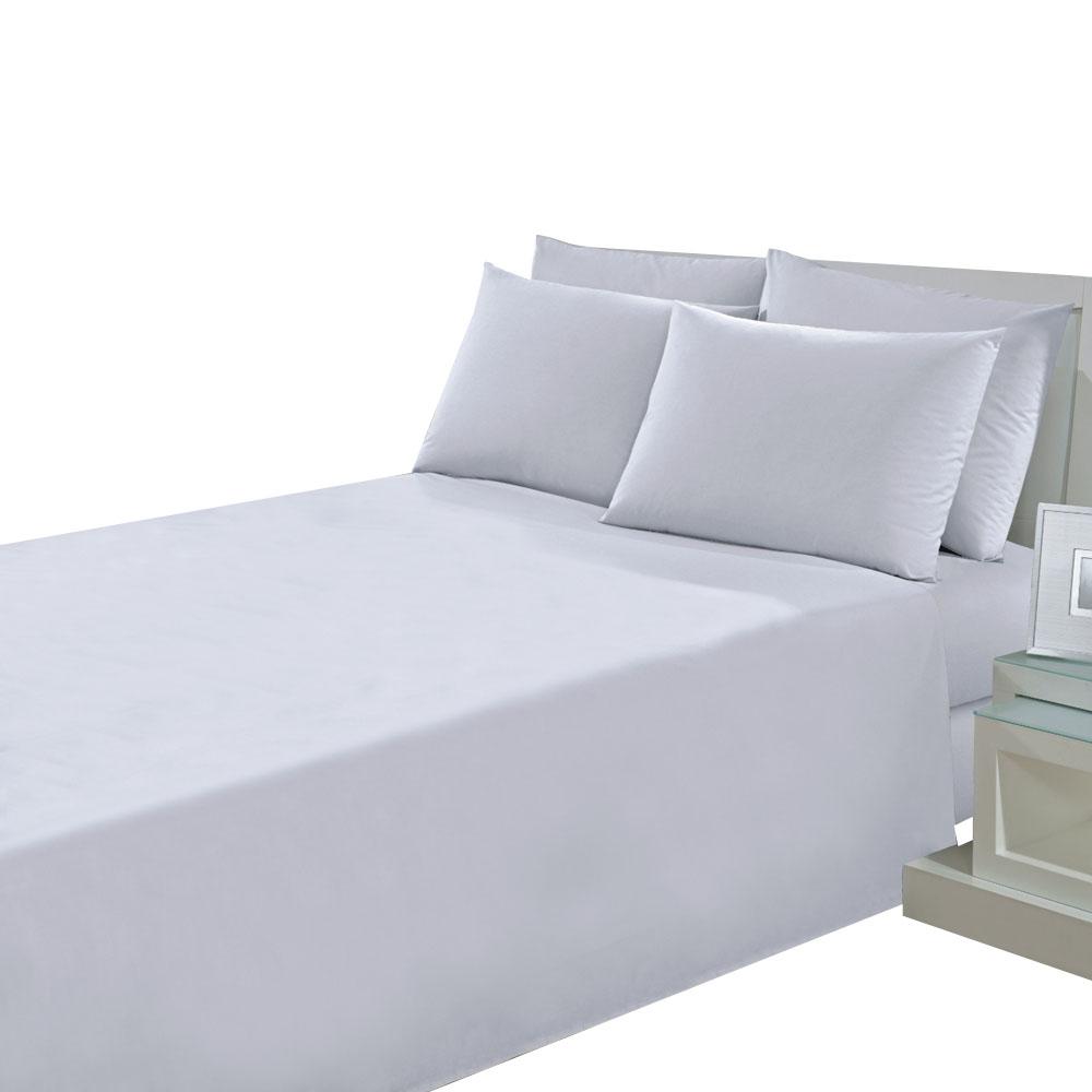 Lençol Solteiro Prata 1,60m X 2,50M Branco Linha Profissional Santista Unitario - PRATALSSXINSB01