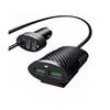 Carregador Veicular com 4 saídas USB 5.1A Extensor Para Passageiro Cabo 1 M - Knup - KP-578