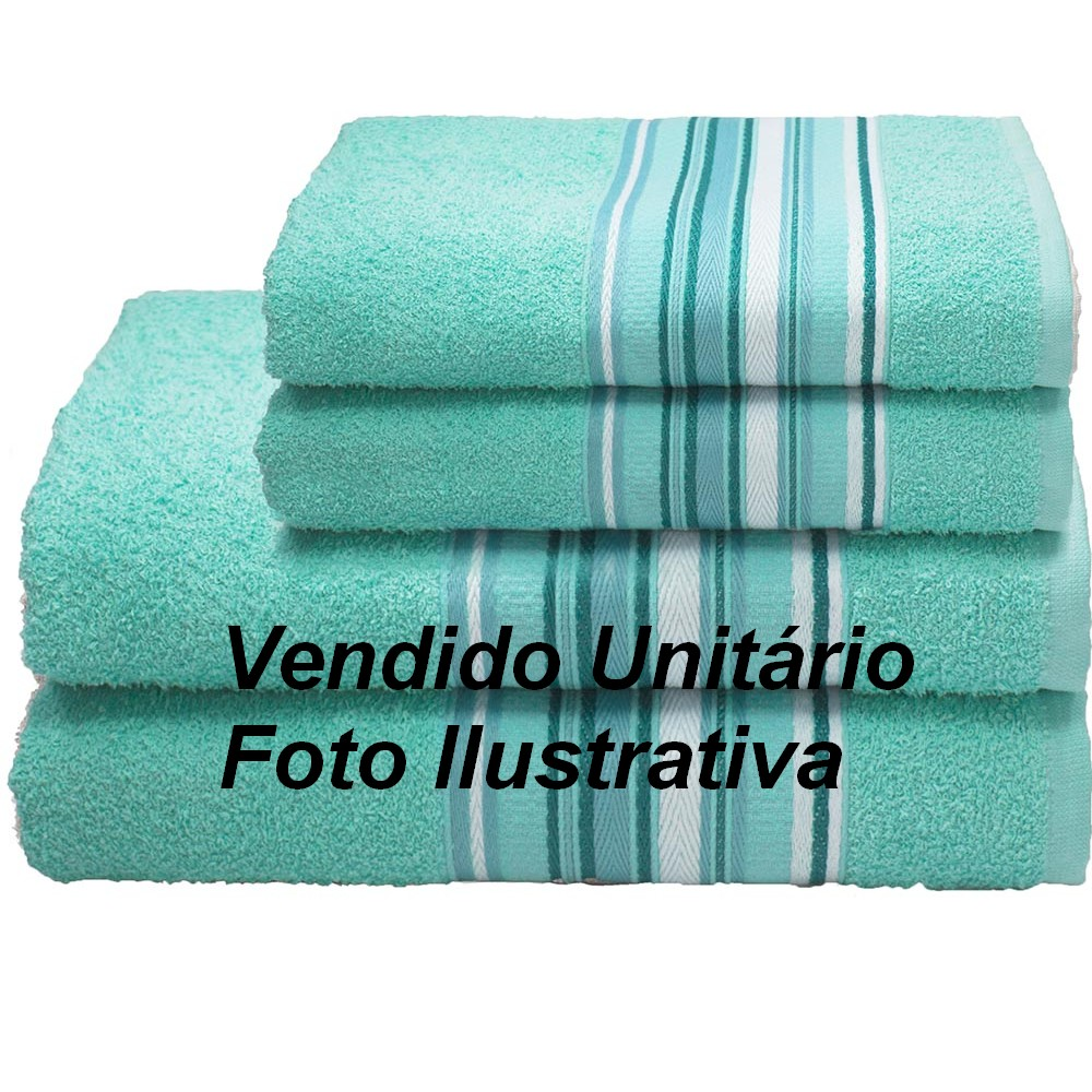 Toalha de Rosto Camesa Vegas 45cm X 70cm 340g/m² Verde Claro - 1.03500.56.2675