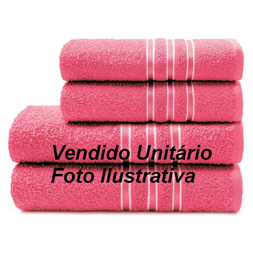 Toalha de Rosto Camesa Festiva 45cm X 70cm 265g/m² Pink