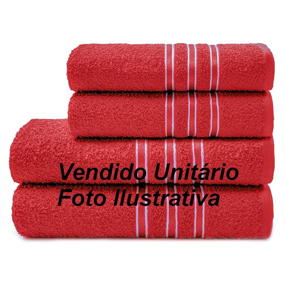 Toalha de Banho 63cmx1,20m Festiva 265g/m² Vermelho Camesa