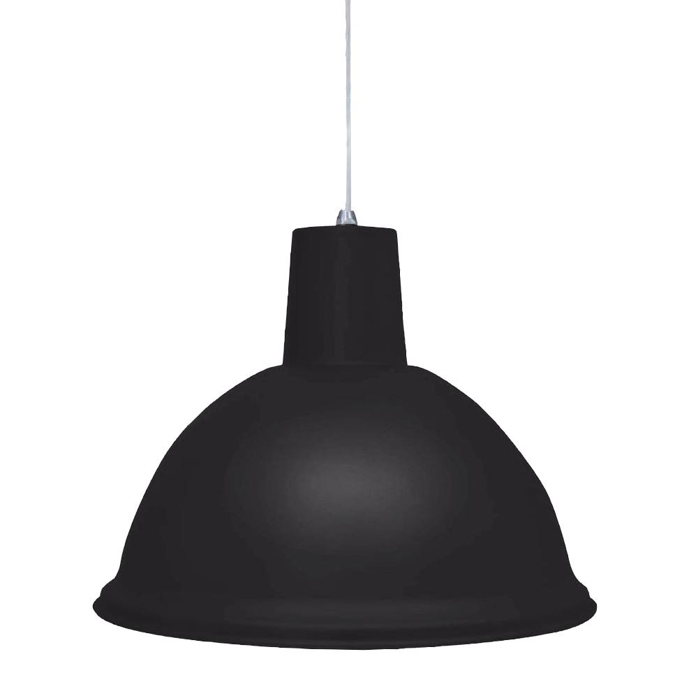 Luminária Pendente Design TD-820 E27 Preto Taschibra - 02110001-02