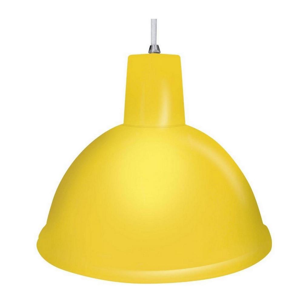 Luminária Pendente Design TD-821 E27 Amarelo Taschibra - 02110002-11